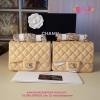 Chanel Classic mini นิ้ว สีครีม งานTOP MIRRORเกาหลีระดับHiend