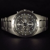 Seiko Titanium Chronograph Watch SND419P