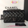 Chanel Classic Cavier Leather สีดำ