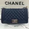 Chanel Boy สีน้ำเงินกรม