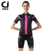 **พรีออเดอร์** เสื้อปั่นจักรยานผู้หญิง สีดำชมพู