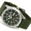 Seiko 5 Sport Mens Automatic Military 100M Green Strap SNZG09