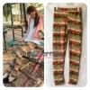 (พร้อมส่ง) เลกกิ้งฟ้อนเกาหลี+หัวใจโทนน้ำตาล ผ้านิ่มๆ เอวยางฟรีไซส์ ส่ง 6 ตัวขึ้นไป ราคา 150 บาทคะ