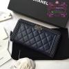 Chanel Wallet สีน้ำเงิน งานHiend 1:1