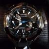 Seiko Men's Sport Kinetic Direct Drive Velatura TiCN Black Watch SRH019P1