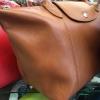 Longchamp Le Pliage Cuir size XL สีน้ำตาลอ่อน รุ่นหนังด้าน เป็นกระเป๋าเดินทางก็ได้นะคะ