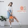 กระเป๋าเป้แบรนด์ Himawari Bag by Anelloo สีทูโทนสุดน่ารัก