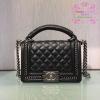 Chanel Boy สีดำ งานHiend Original