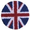 พรมแฟนซี ลายธงชาติอังกฤษทรงกลม
