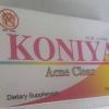 KONIYA Acne Clear อาหารเสริมรักษาสิวให้หาย ภายใน 3-7 วัน