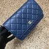 Chanel Woc สีน้ำเงิน งานHiend