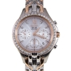 Seiko SSC874P1 Ladies Chronograph Premie Rose Gold Dial Solar System Series
