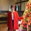 (พร้อมส่ง) เสื้อโค้ทสีแดงสุดจี๊ด รุ่นกระดุมหน้า มีประเป๋าตรงสะโพก 2 ข้าง สวยคะ