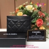 Chanel Card Holder สีดำ งานHiend