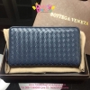 Bottega veneta Zippy Wallet สีน้ำเงิน