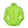 พร้อมส่ง >>> เสื้อคลุมปั่นจักรยานพร้อมส่ง สีเขียวสะท้อนแสง