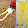 (พร้อมส่ง) เลกกิ้งผ้าซีทรูลายลิตเติ้ลดอท สีเหลืองน่ารักมากๆคะ เอวยาวฟรีไซส์ ส่ง 6 ตัวขึ้นไปเหลือ 100 บาท