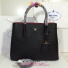 Prada Double bag สีดำ