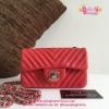 Chanel sac สีแดง งานHiend