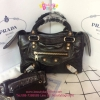 Balenciaga mini city 9 สีดำ