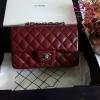 Chanel mini สีแดงเลือดนก งานHiend Original