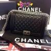 กระเป๋า Chanel Boy 10นิ้ว สีดำ