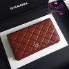 Chanel wallet สีแดงเลือดนก งานHiend Original