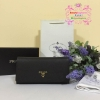 Prada Saffiano Leather Wallet สีดำ งานHiend