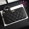 Chanel clutch wallet สีดำ งานHiend Original