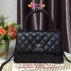 Chanel coco handle สีดำ เกรด Hiend Original leather