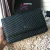 Chanel Woc chevron สีดำ งานHiend1:1