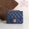 Chanel mini สีน้ำเงิน งานHiend