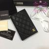 Chanel Passport Holder สีดำ งานHiend1:1