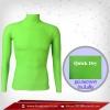 เสื้อรัดกล้ามเนื้อ รุ่นQuick Dry มีรูระบายอากาศ สีเขียวใบตองสินค้าหมดชั่วคราว