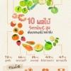 10 ผลไม้ วิตามิน C สูง