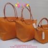 Longchamp Planetes สีส้มสด มีSize S,M,L