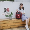กระเป๋าเป้แบรนด์ Himawari Bag by Anello สีทูโทนสุดน่ารัก