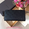 LOUIS VUITTON ZIPPY WALLET สีดำ งานHiend