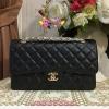Chanel Classic Cavier Leather สีดำ
