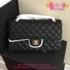 Chanel Classic Caviar Leather สีดำ งานTOP MIRRORเกาหลีระดับHiend Original