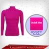 เสื้อรัดกล้ามเนื้อ รุ่นQuick Dry มีรูระบายอากาศ สีม่วง mediumorchid