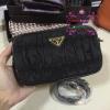 Prada mini bag สีดำ งาน Hiend
