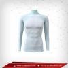 เสื้อรัดรูป Body Fit แขนยาวคอตั้ง สีฟ้า lightskyblue