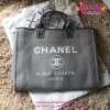 Chanel Jeans Shopping bag สีเทา งานHiend Original