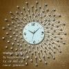 นาฬิกาแขวนผนังสวยๆ รูปรัศมีพลอยสวย - รหัส HT0020