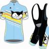 **สินค้าพรีออเดอร์**ชุดปั่นจักรยาน vanderkitten สีฟ้า
