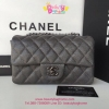 Chanel Classic Cavier Leather สีเทา