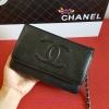 Chanel woc หนังคาเวียร์ สีดำ งานTOP MIRRORเกาหลีระดับHiend
