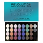 Makeup Revolution (MUR) - Ultra 32 Shade Eyeshadow Palette MERMAIDS FOREVER