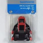CLEAT คลีทเสือหมอบ Shimano SPD-SL SM-SH10 สีแดง